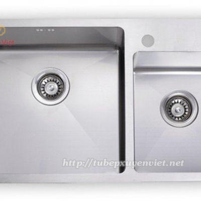 CHẬU RỬA ĐÔI GJS 8047 - INOX 304 (KOREAN)