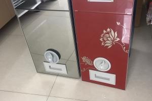 Thùng gạo âm tủ hoặc mặt gương